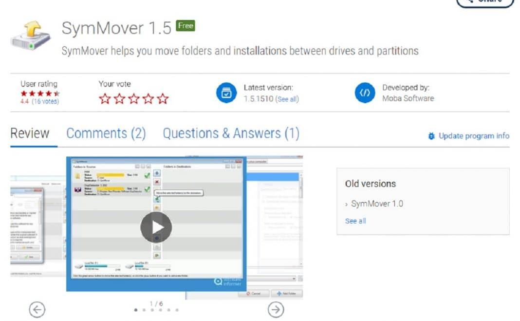 Qu'est-ce que SymMover et comment l'utiliser ?