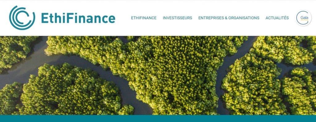 Exemple d'agence de notation extra financière indépendante : Ethifinance